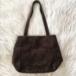 CHANEL Sac Shopping Tote Bag
